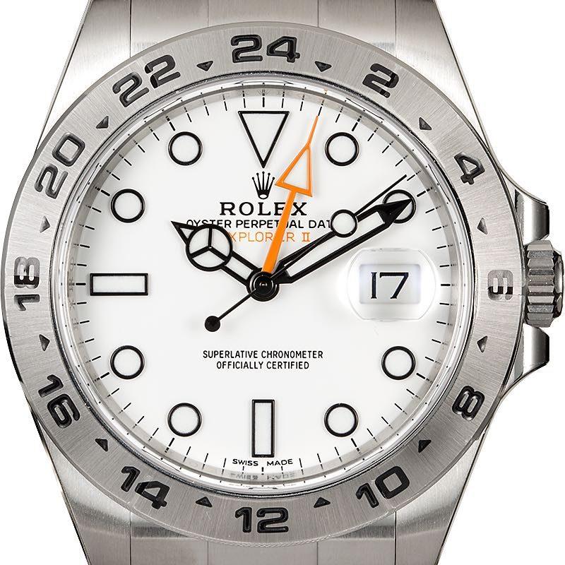 Explorer II ref 216570 white dial