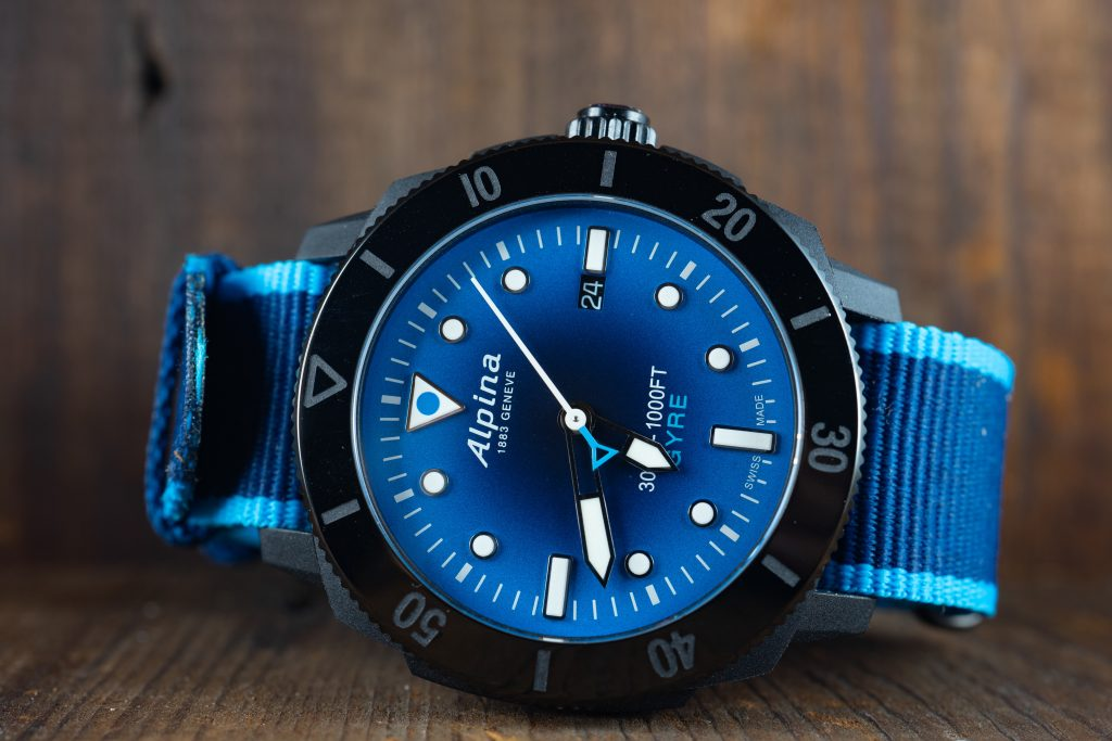 Hands-On Review – Alpina Seastrong Gyre Made From Upcycled Ocean Plastics