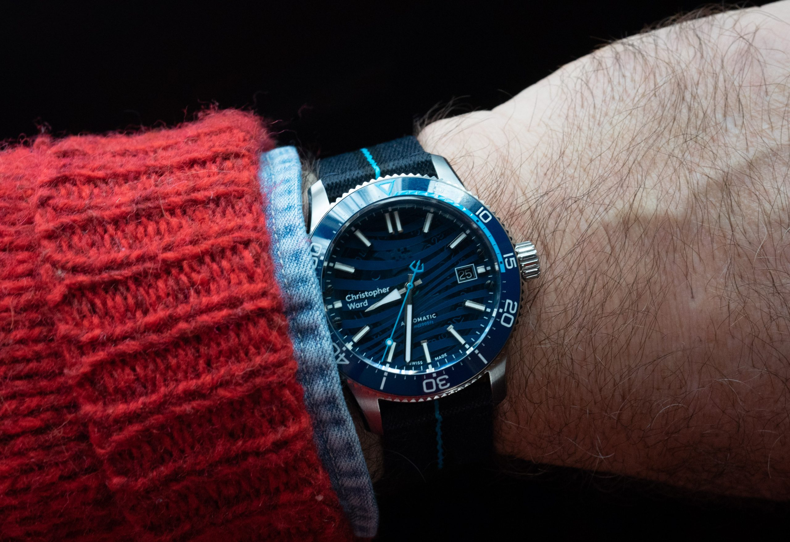 Hands-On Review – Christopher Ward C60 BLUE Limited Edition Dive Watch