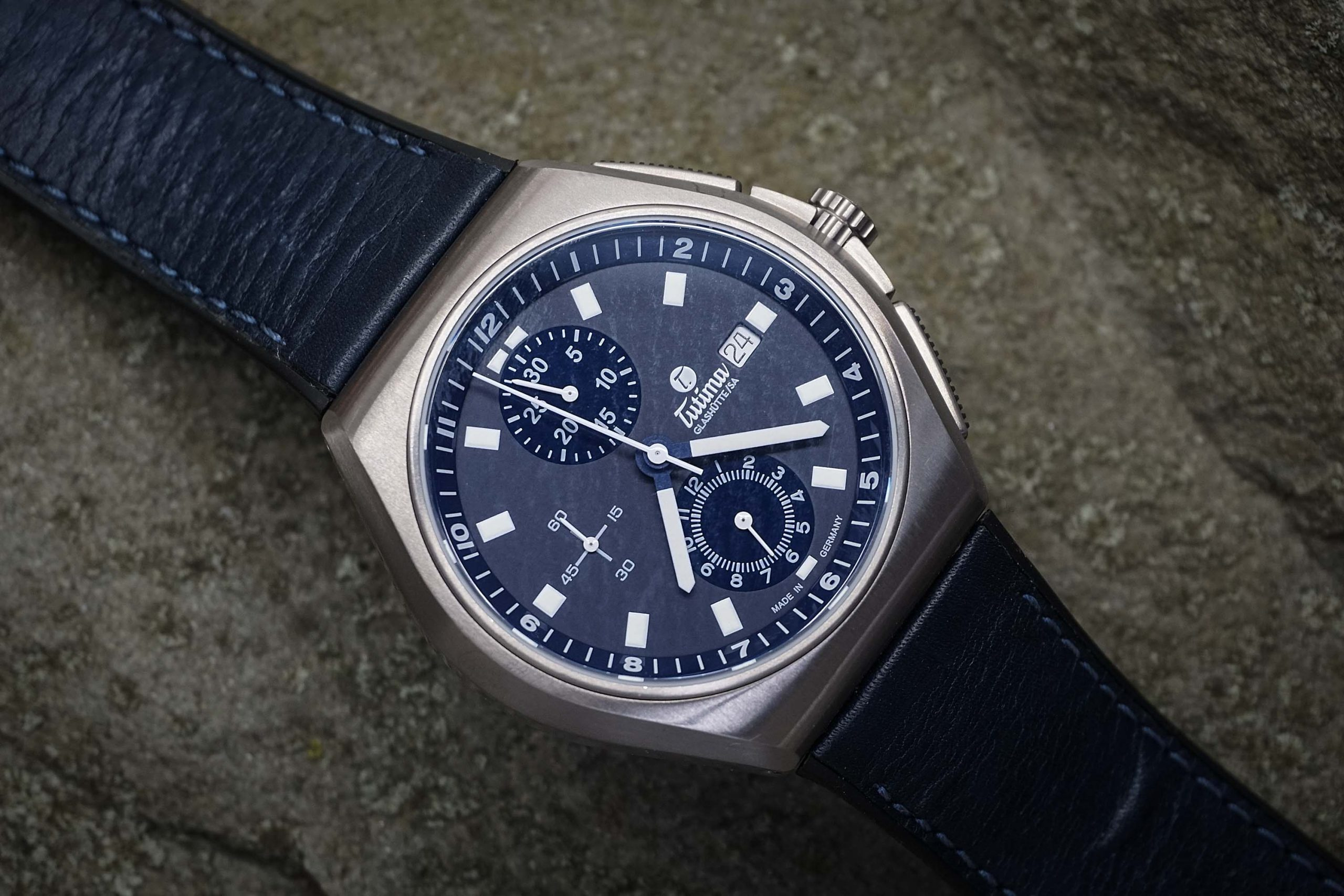 Hands-On Review – Tutima M2 Coastline Chronograph 6430-06