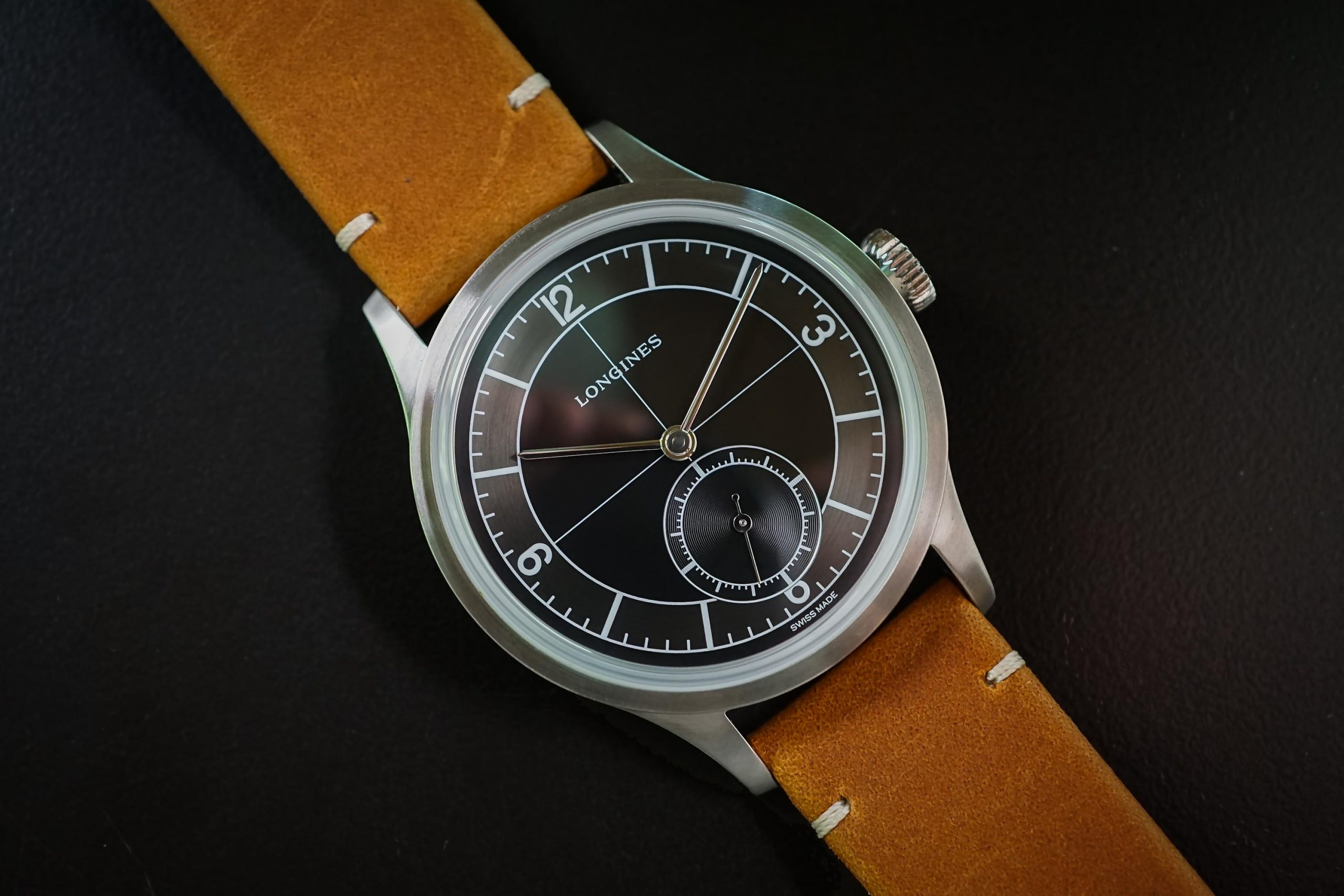 Hands-on Review – Longines Heritage Classic Sector Dial