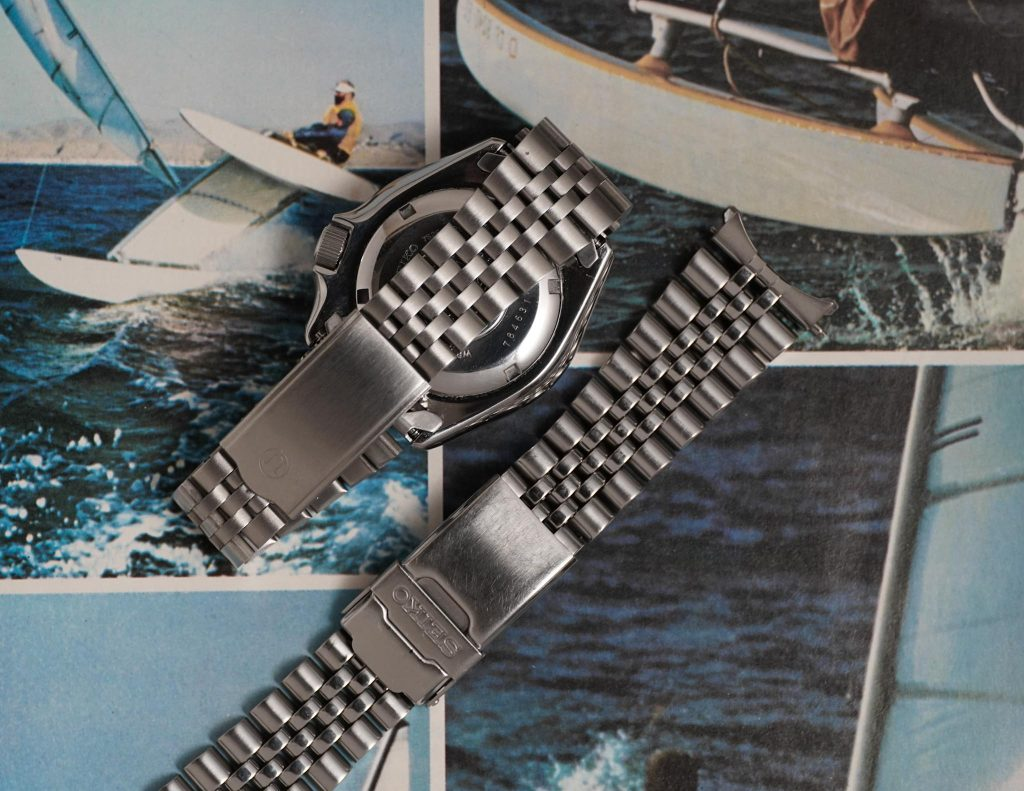 Uncle Seiko Z199 Bracelet and Stock Seiko 44GAZZ Bracelet