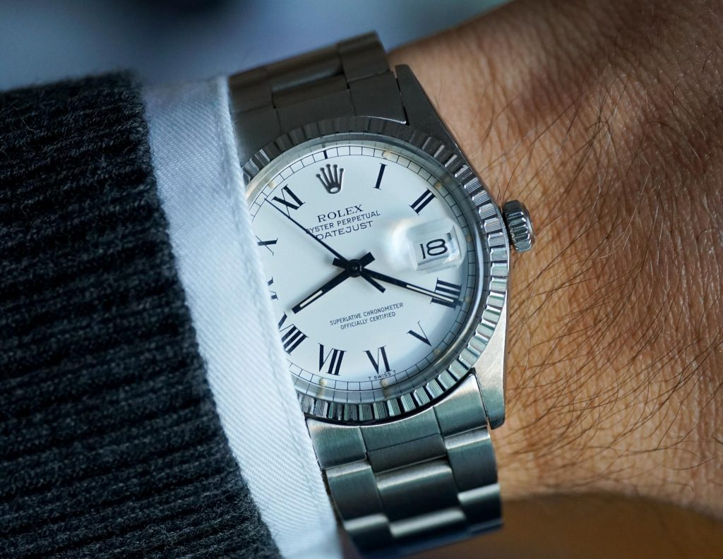 Vintage Rolex Datejust 16030 Buckely Dial