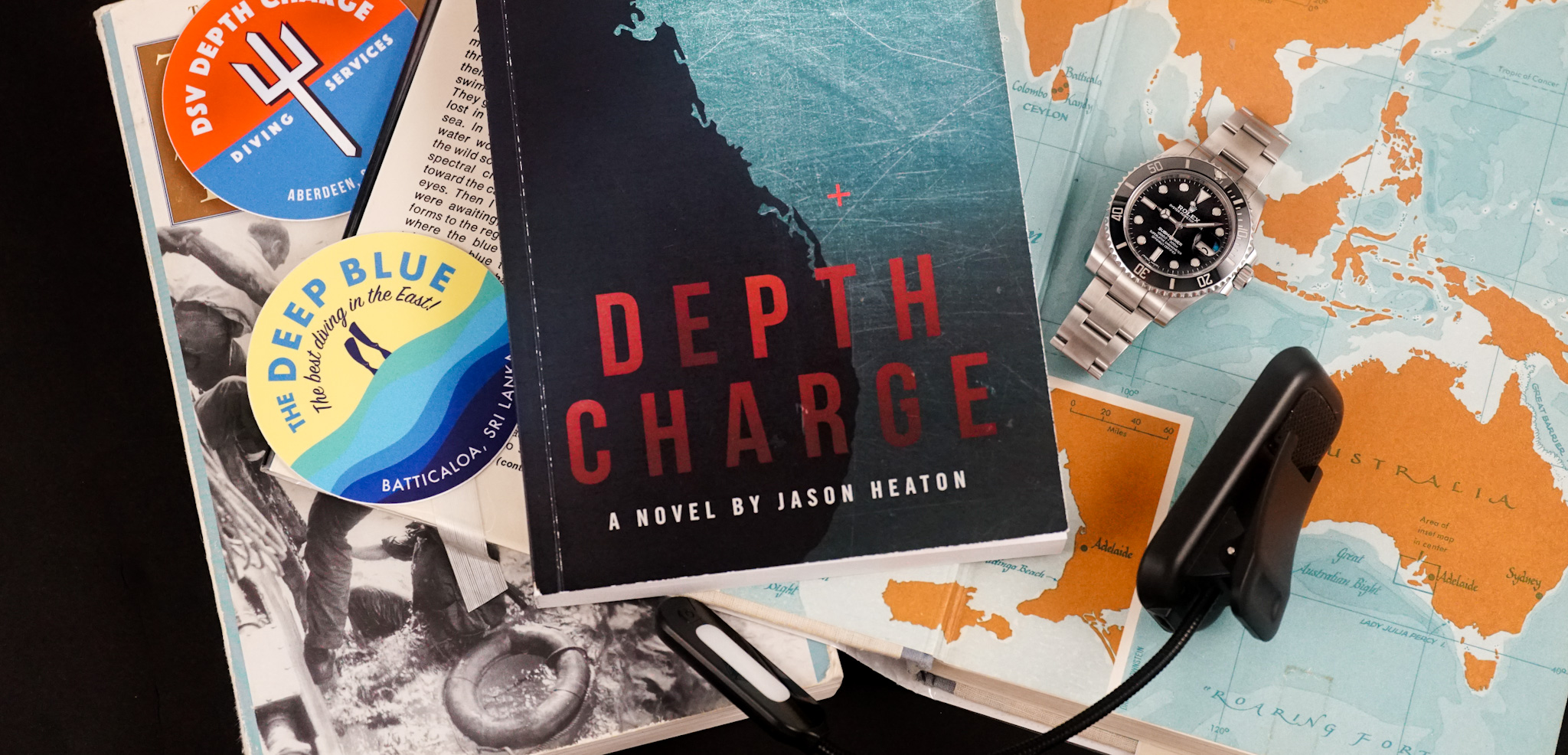 """Book Review – """"Depth Charge"""" by Jason Heaton"""
