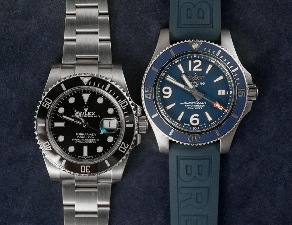 Breitling Superocean 42 vs Rolex Submariner 116610