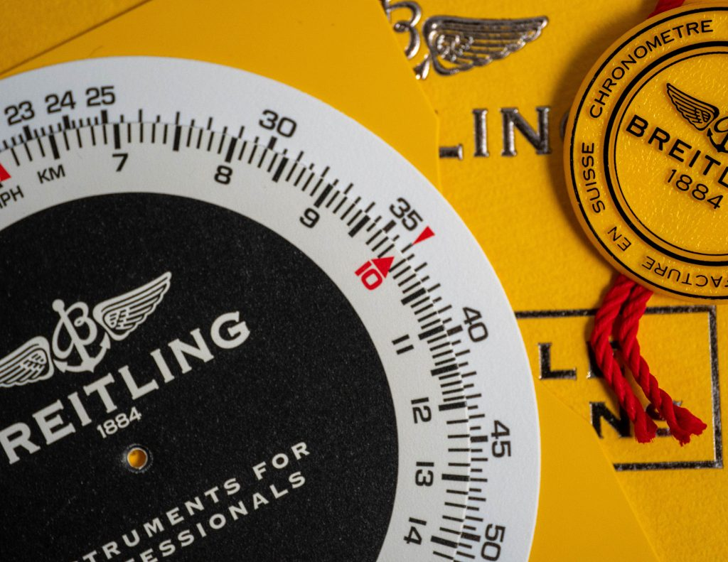 Breitling Navitimer Slide Rule Instructions