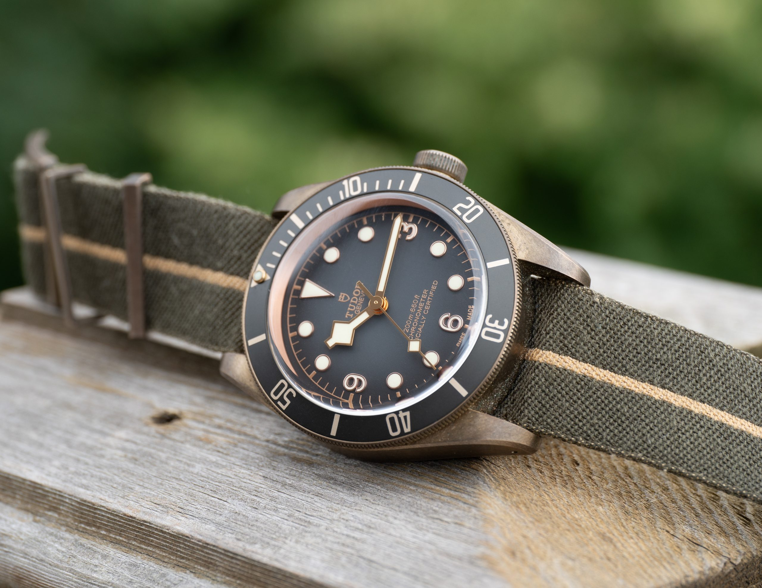 Hands-on Review – Tudor Black Bay Bronze
