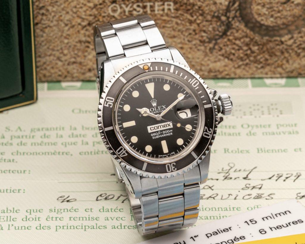 Comex Rolex Submainrer Ref 1680