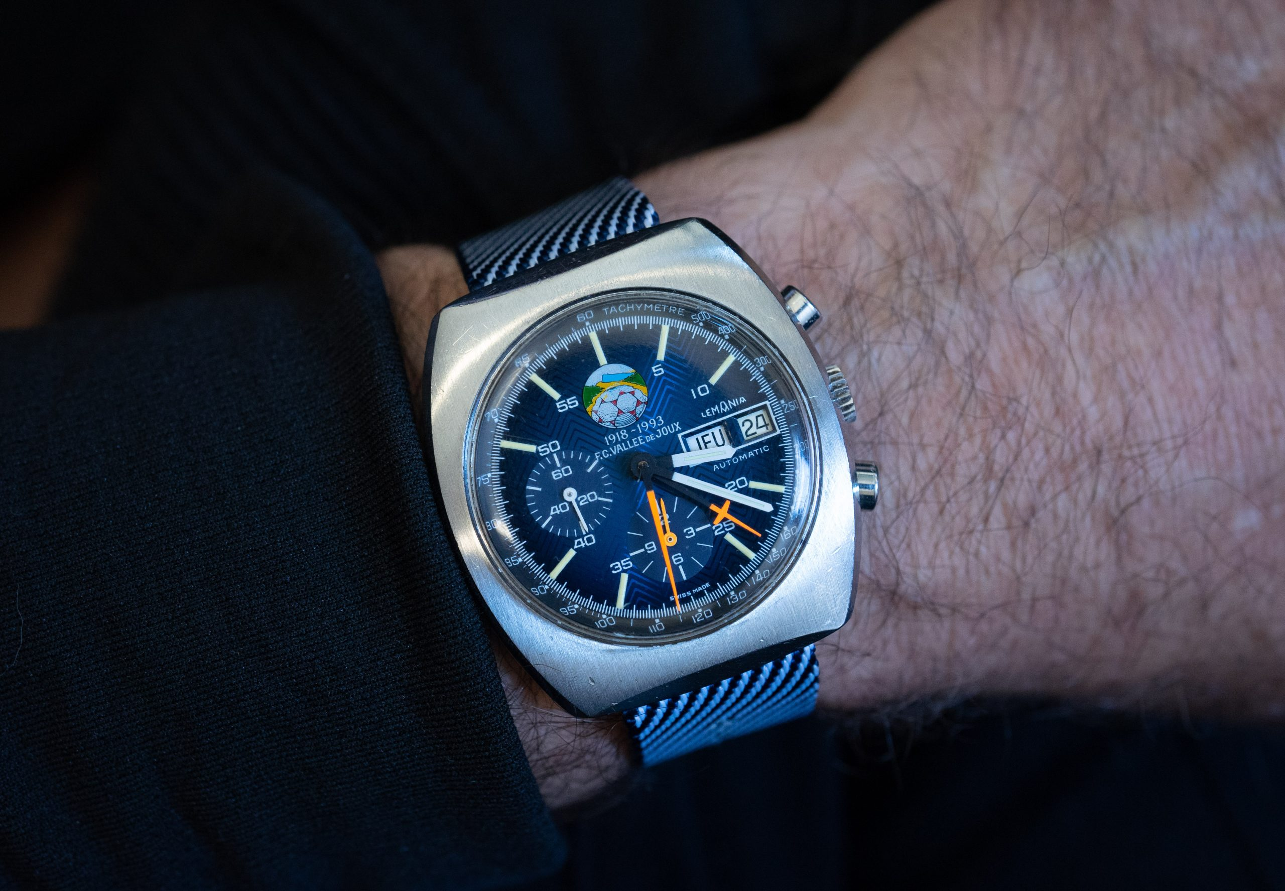 Hands-On Review – The Valjoux Lemania Soccer Watch