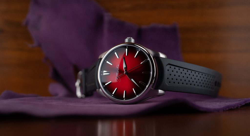 Hands-On Review – Overlooking The Glory of Large Watches, a Case Study Featuring the Moser Pioneer Centre Seconds Limited Edition in Mad Red