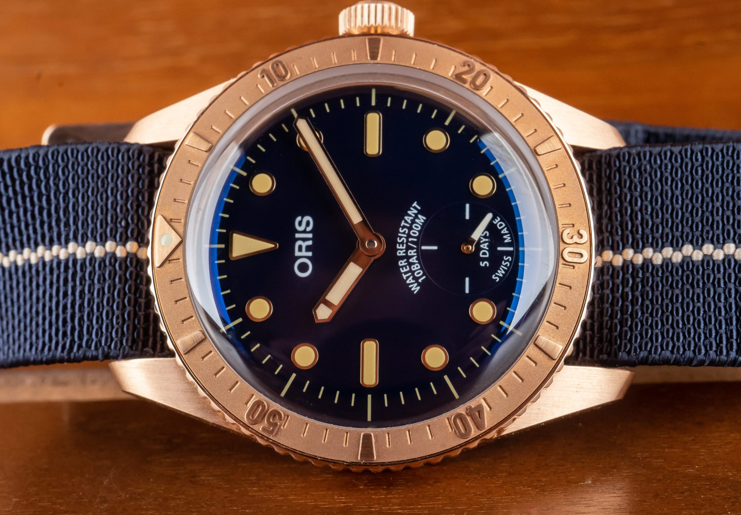 Hands-On Review – Oris Carl Brashear Cal 401 Limited Edition Diver 65 in Bronze