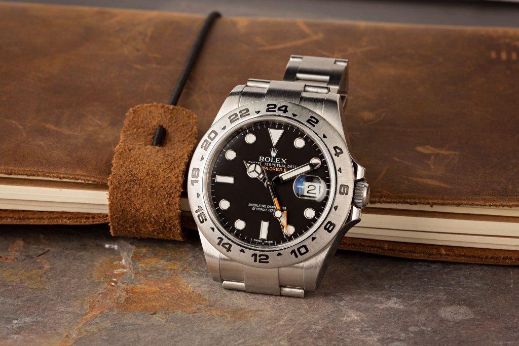 Explorer II ref 216570 black dial