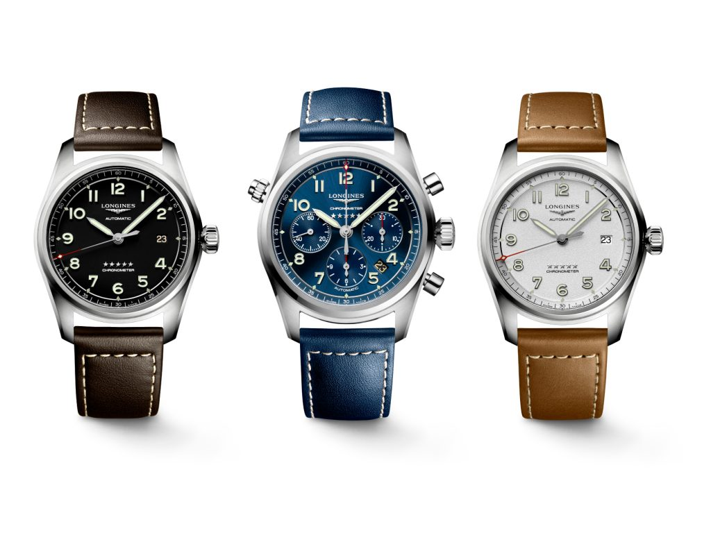 Longines Gracefully Shuns Lindbergh With Their New Spirit Collection Pilots Watches