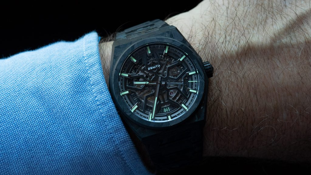 Hands-On Review – Zenith Defy Classic Carbon