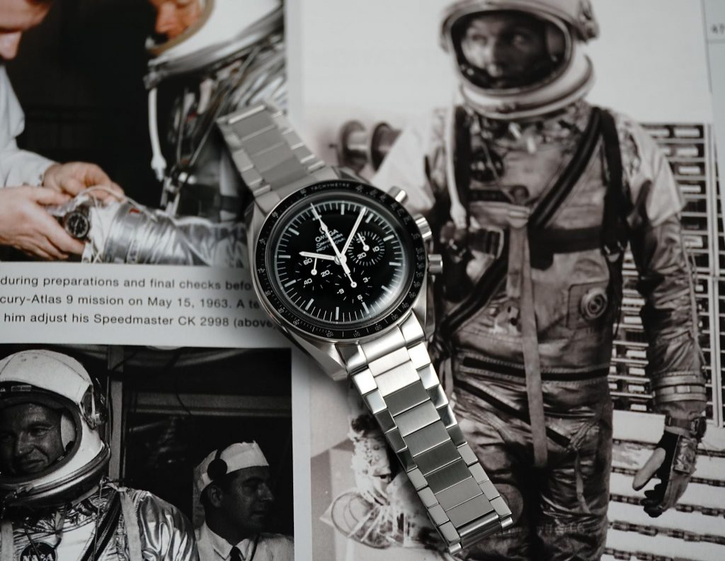 NASA Omega Speedmaster Uncle Seiko Flat Link Bracelet