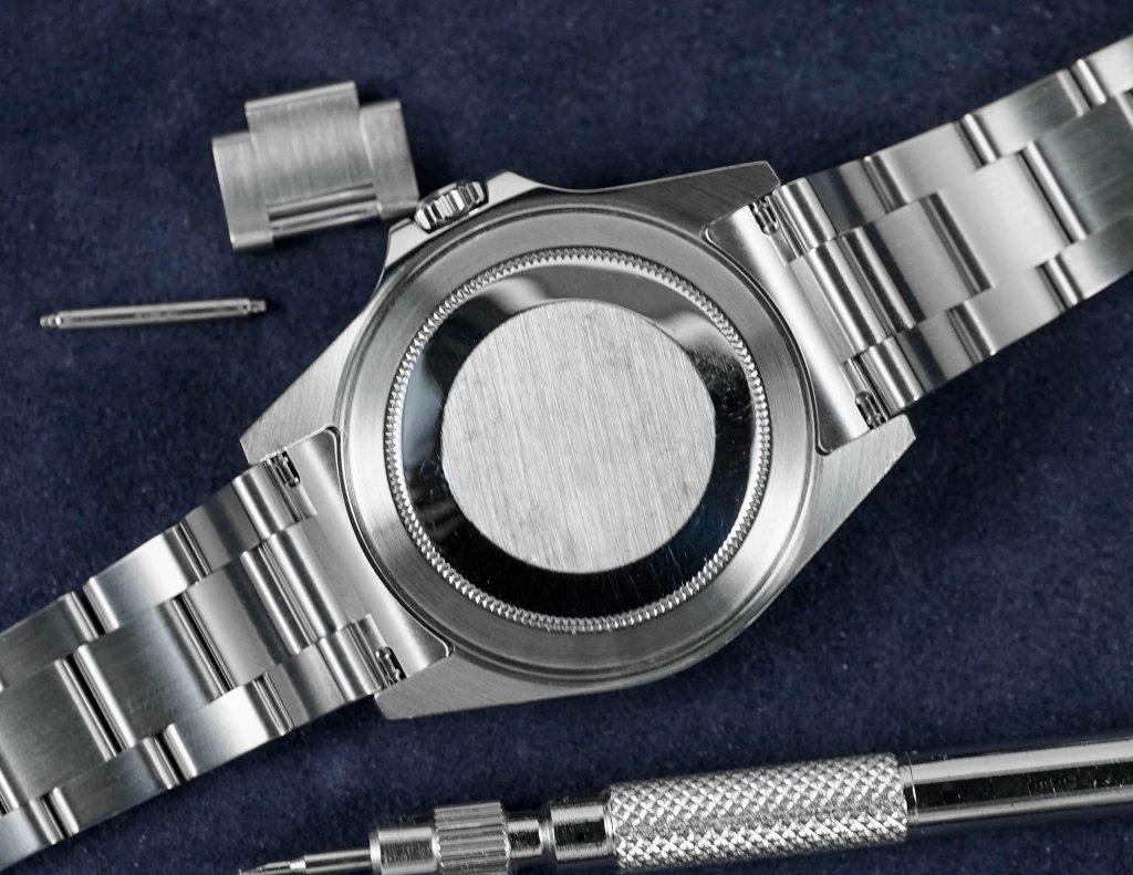 Rolex Explorer 16570 cassock, springbars, and bracelet