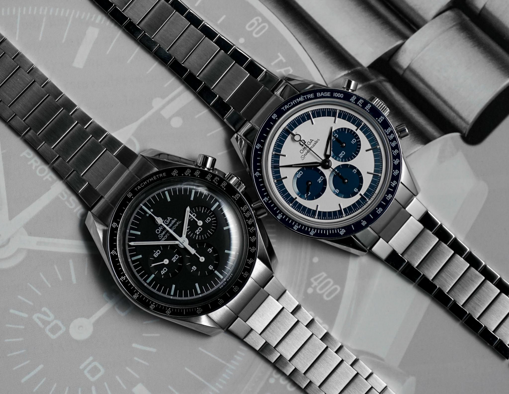 Uncle Seiko Flat Link bracelets for the Omega Speedmaster Professional and CK2998