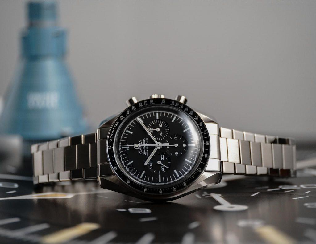 Uncle Seiko Flat Link Omega Speedmaster Bracelet.